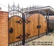 Кованые перила,  лестница,  козырек,  решетка,  ворота,  навес,  забор